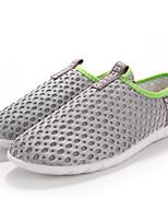 Men's Shoes Tulle Athletic Flats Athletic Sneaker Flat Heel Slip-on Black / Blue / Gray