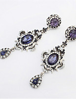 Fashion oval diamond crescent earrings nightclub ladies Party Decorations