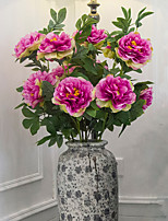 Hi-Q 1Pc Decorative Flowers Real PeoniesFor Wedding Home Table Decoration Artificial Flowers