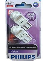 LED-Bremslichter leuchtend roten Doppeldraht-12835-Typ haltbar, wasserfest stoßfest Temperatur