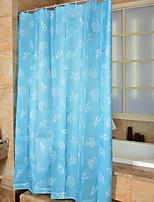 Cartoon Mediterranean Shower Curtains W71