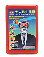 máscaras de gas de escape de incendios de humo máscara TZL 30 de tipo equipo de respiración autónomo