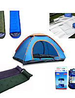 / Moistureproof /Ultraviolet Resistant Polyester / Polyester Taffeta One Room Inflated Mat / Sleeping Bag / Tent