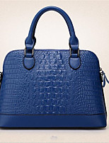 Men-Outdoor-PU-Shoulder Bag-Blue