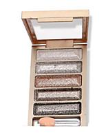 6 couleurs fard à paupières nude comestic une beauté maquillage durable des couleurs aléatoires