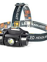 Lanternas LED LED 1 Modo 600 lumens LumensProva-de-Água / Recarregável / Resistente ao Impacto / Bisel de Golpe / Tamanho Compacto /