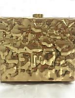 Women-Formal-PU-Shoulder Bag-Gold / Silver