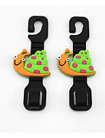 cx siège de voiture de bande dessinée gant de voiture Crochet multifonction arrière voiture crochet