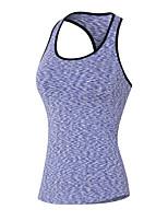 Running Sweatshirt / Tank Women's Sleeveless Breathable / Quick Dry / Sweat-wicking / Stretch / Compression Yoga / Fitness / Running