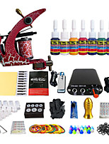 Mini Power Coil Tattoo Machine Kit Tool Kit  (Handle Color Random Delivery)