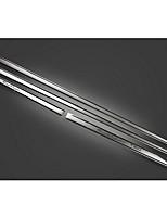 Automotive Supplies ABS Plating Stainless Steel Bumper Strip For Reiz / Anti-Rub Metal Strip 4 Pcs