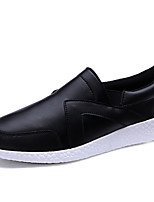 Men's Shoes Outdoor / Casual Flats Outdoor / Casual Walking Flat Heel Shoes  Black / White