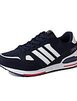 Herrenschuhe-Lässig-Sneaker-Tüll-Schwarz / Blau / Rot / Grau