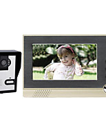 No Radiation And Low Power 7 Inch Color Video Intercom Doorbell Hands-Free Intercom Doorbell Spyhole Building