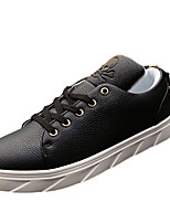 Men's Sneakers Spring / Summer / Fall Comfort PU Casual Flat Heel Others Black / Red / White Sneaker