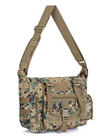 35 L Shoulder Bag Camping & Hiking Outdoor Multifunctional Black / Brown / Camouflage Nylon Other