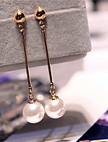 Earring Geometric Drop Earrings Jewelry Women Fashion Wedding / Party / Daily Alloy 1 pair Gold