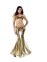 Costumes Déguisements de contes de fées / Mermaid Tail Halloween / Noël / Carnaval / Fête d'Octobre / Nouvel an DoréCouleur Pleine /