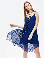 Heart Soul® Women's Strap Sleeveless Asymmetrical Dress-11AA17668