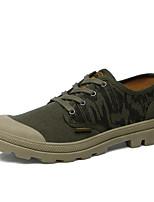 Men's Shoes Fabric Work & Duty Totes Work & Duty Trail Running Flat Heel Slip-on Black / Green