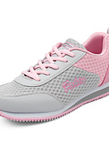 scarpe da donna tulle piatto di comfort del tallone / rotonde scarpe da ginnastica di moda punta atletico / casuale blu / rosa