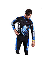 Cycling Clothing Sets/Suits Long Sleeve Bike Summer Waterproof Green / Red / Black / Blue S / M / L / XL / XXL / XXXL