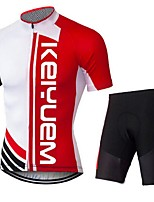 KEIYUEM Cycling Clothing Sets/Suits / Jerseys Unisex BikeBreathable / Quick Dry / Dust Proof / Wearable / Sweat-wicking / Compression /
