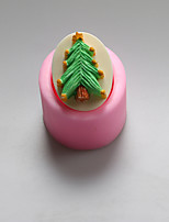 Christmas Tree Shape Chocolate Silicone Molds,Cake Molds,Soap Molds,Decoration Tools Bakeware