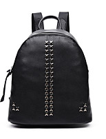 Women-Formal / Casual / Office & Career / Shopping-PU-Backpack-White / Blue / Gray / Black