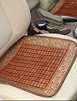 bamboe auto zitkussen bruin