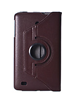 For LG G Pad V480 V490 8.0 Inch Tablet Case 360 Degree Rotating Ultra Slim Litchi Pattern PU Leather Case Flip Cover
