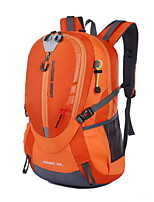 40L Backpacking Pack Camping & Hiking / Climbing Outdoor Multifunctional Green / Red / Blue / Light Blue / Orange Nylon