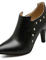Women's Shoes Spring/Fall/Winter Heels/Bootie/Pointed Toe/Boots Party & Evening/Dress Stiletto Heel Rivet