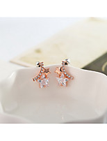 Earring Others Stud Earrings Jewelry Women Fashion Daily / Casual Alloy 1pc Gold
