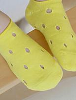 Girls / Boys Socks & Stockings,Summer Cotton Black / Green / Pink / Purple / White / Yellow / Gray