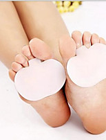 1pair High-heeled Shoes Forefoot Pad Silica Gel Cushion Pad Orthotic Insole Half Yard Pad Foot Care Tools Metatarsal