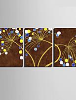 Canvas Set Abstrakti European Style,3 paneeli Kanvas Pystysuora Tulosta Art Wall Decor For Kodinsisustus