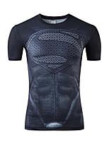 Sports Cycling Tops Men's Bike Breathable Short Sleeve Stretchy Terylene White S / M / L / XL / XXL / XXXL Cycling/Bike
