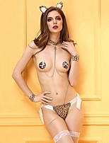 YUIYE® Wild Cat Women Sexy Lingeries Hot Lady Sexy Leopard Body  Cosplay Suit Female Lingerie