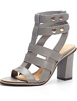 Women's Shoes Synthetic /Peep Toe SandalsWedding / Office & Career / Work & Duty / Party & Evening /