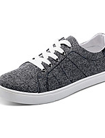 Men's Shoes Canvas Outdoor / Casual Fashion Sneakers Outdoor / Casual Indoor Court Flat Heel Lace-up Blue / White / Gray