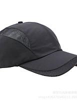 Cap Unisex Warm / Windproof Head Leisure Sports / Baseball Black Acrylic Fibers / Terylene