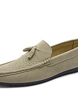 Men's Shoes Fleece Casual Walking Flat Heel Slip-on More Color EU39-43