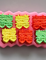 Xi  DIY Chocolate Silicone Molds,Cake Molds,Soap Molds,Decoration Tools Bakeware