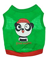 Katzen / Hunde T-shirt Grün Sommer Tier Modisch, Dog Clothes / Dog Clothing-Pething®