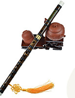 Music Toy Bamboo Black Leisure Hobby Music Toy