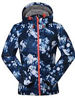 GSOU NEIGE® Tenue de Ski Anorak pour Ski/snowboard / Veste Softshell / Chapeau Femme Tenue d'Hiver Polyester / Toison Vêtement d'Hiver