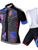 KEIYUEM® Summer Cycling Jersey Short Sleeves + BIB Shorts Ropa Ciclismo Cycling Clothing Suits #K84