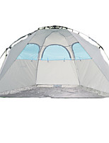 / Breathability / Ultraviolet Resistant / Well-ventilated Polyester Taffeta One Room Shelter & Tarp Gray