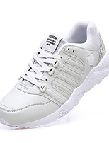 Men's Shoes Tulle Athletic Shoes Running Lace-up Black / White